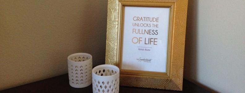Mad Gratitude